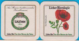 Licher Privatbrauerei Lich ( Bd 372 )Rahmen Ecken Rund - Sous-bocks