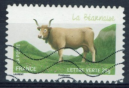 """France, French Cattle Breed, """"Béarnaise"""", 2014, VFU Self-adhesive - Frankrijk"""