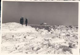 Foto Photo Blankenberge Blankenberghe (10 X 14,5cm) Sneeuw Pier - Blankenberge