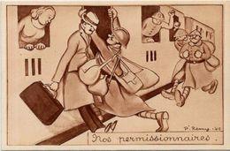 CPA Franchise Militaire Non Circulé Rémy - Guerre 1939-45