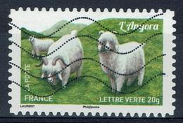 "France, French Goat Breed, ""Chèvre Angora"", 2015, VFU Self-adhesive - Frankrijk"