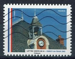 France, Town Hall, Cercy-la-Tour, 2015, VFU - Frankrijk