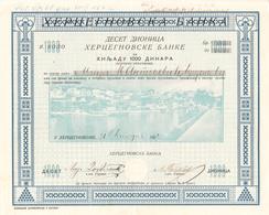 MONTENEGRO HERCEGNOVI 1922 - Shareholdings