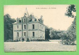 CPA FRANCE 14  ~  RYES  ~  Le Château   ( Michel / Desaix )  2 Scans - France