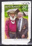 Australia, 2010 - 55c Kokoda Veterans - Nr.3251 Usato° - 2010-... Elizabeth II