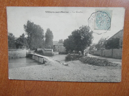 VILLIERS-sur-MARNE  Le Moulin    52 Haute-marne - Sonstige Gemeinden