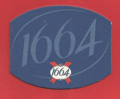 Sous-Bock : Kronenbourg 1664 Joli Bleu (3) - Sous-bocks