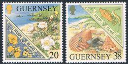 Guernsey - Ile De Herm 818/819 (année 1999) ** - Guernesey