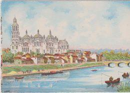 Carte Postale       BARRE  DAYEZ      PERIGUEUX  Le Bord De La Dordogne Et La Cathédrale     2261 A - Périgueux