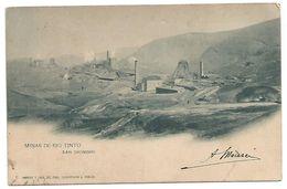 POST CARD OF MINAS DE RIO TINTO - SAN DIONISIO , 1901 . - Huelva