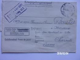 Lettre De Prisonnier Stalag VI F (Bocholt) - Documents