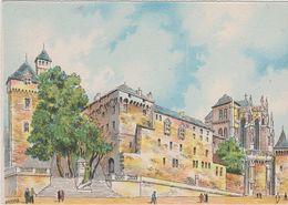 Carte Postale       BARRE  DAYEZ      CHAMBERY     CHATEAU DES DUCS DE SAVOIE  Illustrateur  BARDAY   2271  A - Chambery