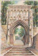 Carte Postale       BARRE  DAYEZ      CHAMBERY     PORTAIL St  DOMINIQUE    Illustrateur  BARDAY   2271  E - Chambery