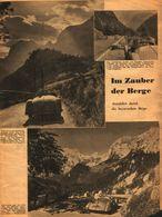 Im Zauber Der Berge / Druck,entnommen Aus Zeitschrift / 1937 - Livres, BD, Revues