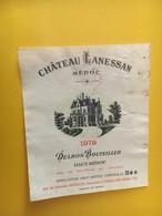 6833 - Château Lanessan 1979 Haut-Médoc 37.5cl - Bordeaux