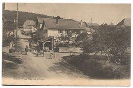 CARTE POSTALE DE ARZIER ( CANTON VAUD )  - LE BAS DU VILLAGE , 1915 . - VD Vaud