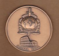 AC -  63 Rd GENERAL ASSEMBLY SESSION OF INTERPOL 28 - 29 APRIL 2010 MEDAL - MEDALLION - Professionals / Firms