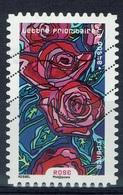 France, Flower, Rose, 2016, VFU Self-adhesive - Frankrijk
