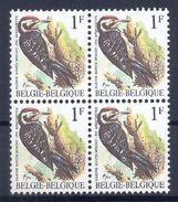 BELGIE * Buzin * Nr 2349 * Postfris Xx * HELDER WIT  PAPIER - GROENE GOM - 1985-.. Vögel (Buzin)
