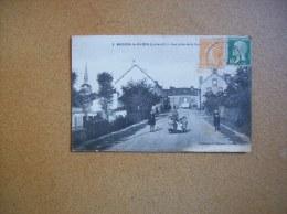 Carte Postale Ancienne De Moisdon-la-Rivière: Vue Prise De La Route D'Issé - Moisdon La Riviere
