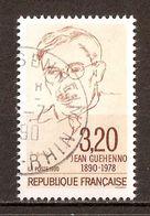 1990 - N°2641 Jean Guéhenno (1890-1978) - Càd 1990 - France