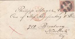 Etats Unis Jolie Lettre De Boston - Postal History