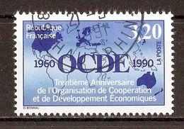 1990 - 30e Anniversaire O.C.D.E. N°2673 - Càd 1991 - Gebraucht
