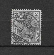 LOTE 1617 /// ALEMANIA IMPERIO   YVERT Nº: 66  CON FECHADOR DE ROMBURG - Alemania