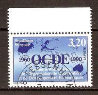 1990 - 30e Anniversaire O.C.D.E. N°2673 - Oblitérés