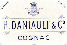 BUVARD COGNAC DANIAULT ET COMPAGNIE - Liqueur & Bière