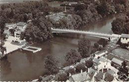 Cpsm Format Cpa  Esbly La Marne Le Pont Et La Plage ZZ 380 - Esbly