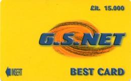 *ITALIA - TESSERA A CHIP - BEST CARD - G.S.NET* - Usata - Non Classificati