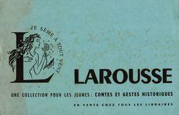 BUVARD DICTIONNAIRE LAROUSSE - Stationeries (flat Articles)