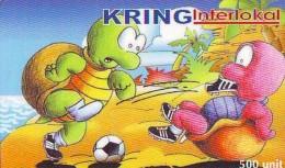 Télécarte INDONESIE * TURTLE *  (2263)  PHONECARD  * TORTUE *  TELEFONKARTE * SCHILDKRÖTE - Schildpadden