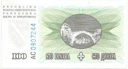 Bosnia And Herzegovina 1000 Dinara  1994. UNC P-44 - Bosnia And Herzegovina