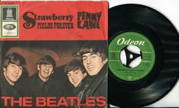 Beatles 45t Vinyle Strawberry Fields Forever - Collector's Editions