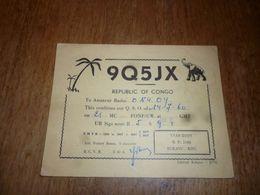 BC10-2-0 Carte Radio Amateur Republic Of Congo Yvan DION Bukavu Kivu - Radio & TSF