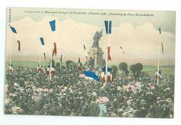 57 - Lot De 2 Cartes : NOISSEVILLE - Inauguration Du Monument Français  4-10-1908 - (animée...) - France
