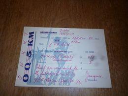 BC10-2-0 Carte Radio Amateur Belgium Congo Gilly - Radio & TSF