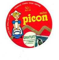 P 1000 / ETIQUETTE DE FROMAGE -   FROMAGE   FONDU  PICON - Fromage