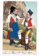 Appenzeller Tracht. Costume Appenzellois - 1917 - Europe