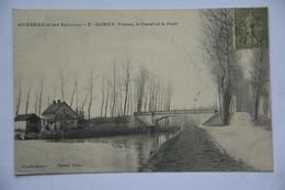 GURGY-le Canal Et Le Pont - Gurgy