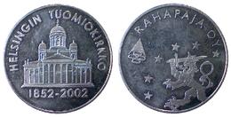 02085 GETTONE JETON TOKEN FINLAND NUMISMATIC TOKEN HELSINGIN TUOMIOKIRKKO 1852-2002 RAHAPAYA MINT - Tokens & Medals