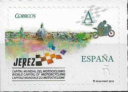 2016 Spanien Mi.5058 **MNH  Jerez De La Frontera, Welthauptstadt Des Motorradsports 2015-2017. - 1931-Tegenwoordig: 2de Rep. - ...Juan Carlos I