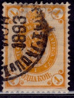 Finland, 1891-92, Imperial Arms Of Russia, 1k, Sc#46, Used - 1856-1917 Russian Government