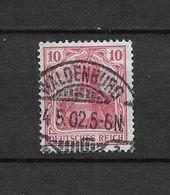 LOTE 1617 /// ALEMANIA IMPERIO   YVERT Nº: 69  CON FECHADOR DE WALDENBURG - Deutschland