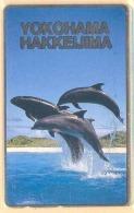 JAPAN Telefonkarte Delfin, Wal -  Siehe Scan - Fish