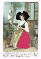 Alsässer Tracht. Costume Alsacien - 1904 - Europe