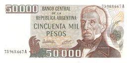 ARGENTINA 50000 PESOS 1979/83 PICK 307 UNC - Argentina