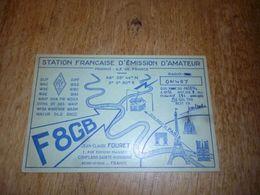 BC10-2-0 Carte Radio Amateur France Conflans Sainte Honorine JC Fouret - Radio & TSF